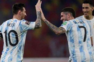 Argentina defiende el invicto ante Colombia