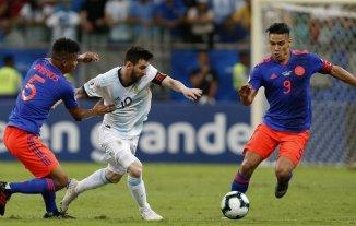 Argentina enfrenta a Colombia: horario, tv y posibles formaciones