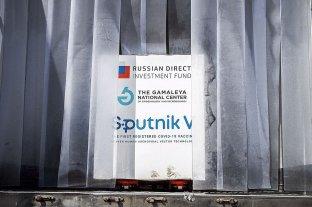 Llegó al país el principio activo para la producción de la Sputnik V