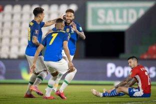 Brasil venció por 2 a 0 a Paraguay y le cortó el invicto