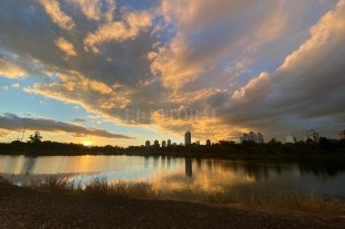 Miércoles templado y mayormente nublado en la ciudad de Santa Fe