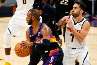 Playoffs: los Nuggets de Campazzo buscan igualar la serie ante Phoenix Suns