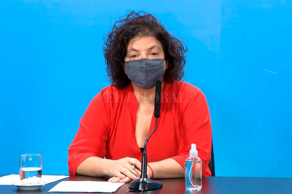 Vizzotti, ministra de Salud. Crédito: Noticias Argentinas