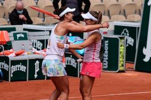 Podoroska se metió en la semifinal del cuadro de dobles