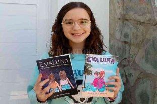 Tiene 12 años y acaba de publicar su segundo libro