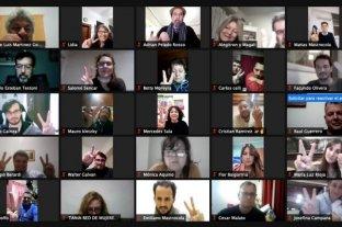 Unidad Ciudadana realizó un encuentro virtual con más de 200 militantes