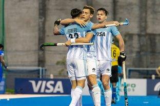 Los seleccionados argentinos de hockey ultiman su preparación para los Juegos