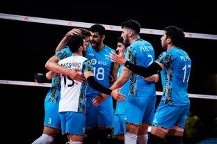 Liga de Naciones: Argentina se quedó con el triunfo ante Australia