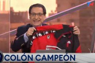 """Sergio Rubin, de TN: """"Pensé que nunca vería a Colón campeón"""""""