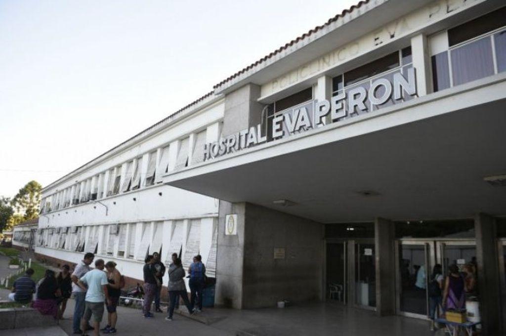 Hospital Eva Perón Crédito: Captura de pantalla