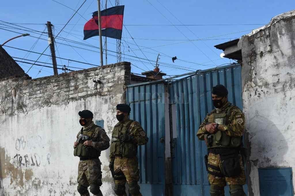 Los allanamientos y detenciones se produjeron el 2 de junio, en distintos puntos de la ciudad.    Crédito: Flavio Raina
