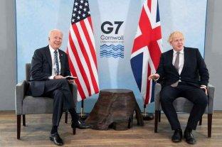 Boris Johnson y Joe Biden cerraron acuerdos sobre coronavirus y cambio climático antes del G7