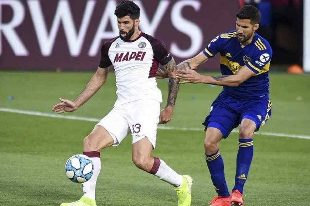 Cambia de camiseta. Entre Lanús y Boca llegaron a un acuerdo y Nicolás Orsini vestirá la azul y oro el próximo torneo.    Crédito: Gentileza