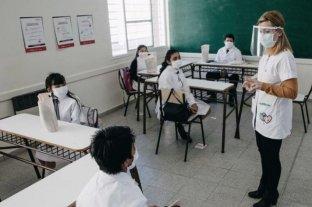 La provincia de Buenos Aires analiza la vuelta de las clases presenciales