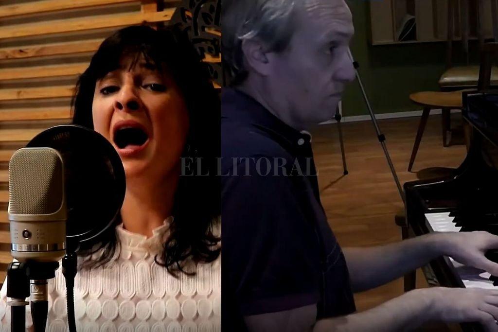 Eletti y De Pedro, unidos en la pasión por la música ciudadana. Crédito: Gentileza Inamu