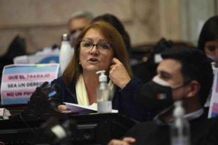 """Patricia Mounier: """"Vivimos una nueva jornada histórica en el Congreso"""""""