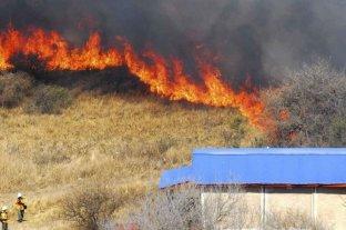Se registran tres focos de incendios activos en la provincia de Entre Ríos