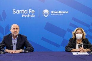 Perotti y Martorano comunicarán cómo siguen las restricciones en Santa Fe