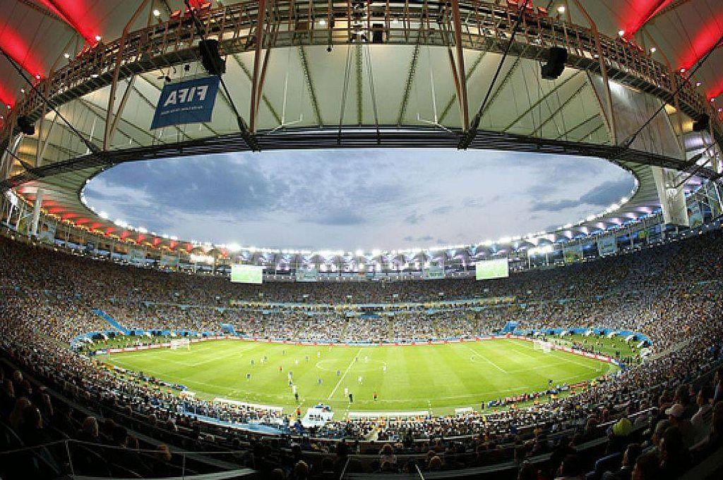 ¿Quiénes llegarán? El imponente Maracaná, el estadio de Río de Janeiro que albergará la final de la Copa América, con capacidad para 85.000 espectadores. Crédito: Archivo
