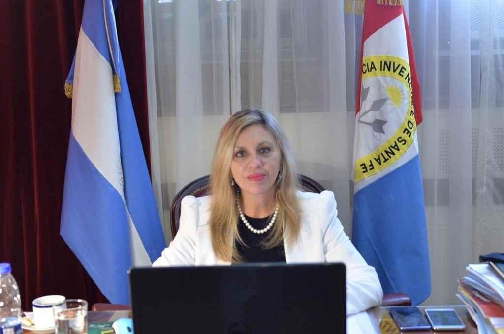Sacnun, senadora santafesina del Frente de Todos   Crédito: Archivo