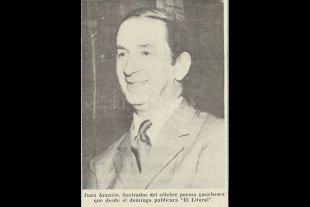 El Martín Fierro, Juan Arancio y El Litoral