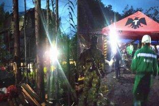 Dos mineros murieron y siete quedaron atrapados por una explosión en Colombia