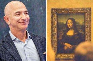 Un extraño pedido incentiva al millonario Jeff Bezos a comprar y comerse a la Mona Lisa