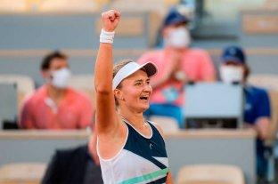 Krejcikova es la nueva campeona de Roland Garros