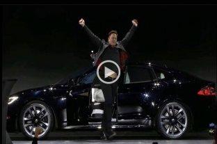 """Video: Tesla presentó el Tesla Model S Plaid, el auto eléctrico """"más rápido del mundo"""""""