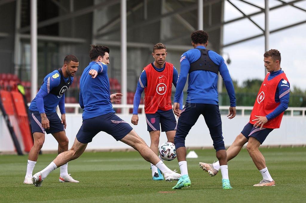 Inglaterra recibirá en Wembley a Croacia. Crédito: @England