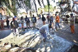 Villa Hipódromo: registran un avance del 80% las obras que mejorarán el barrio