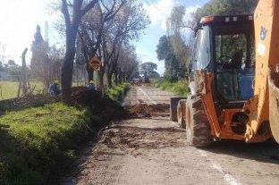 Se iniciaron los trabajos de la nueva red cloacal en la zona oeste de Esperanza