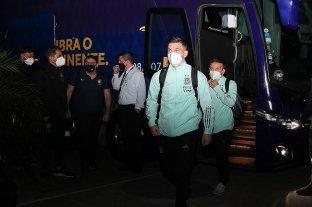 Argentina llegó a Río de Janeiro para su debut en Copa América ante Chile