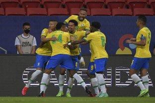 Brasil goleó a Venezuela en el inicio de la Copa América
