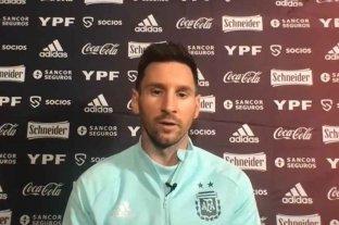 """Messi, en la previa del debut de la selección: """"Es el momento de dar el golpe en esta Copa América"""""""