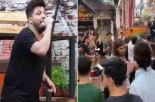Denuncian penalmente al dueño de un bar en el que cantó Damián Córdoba