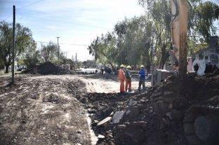 Las obras de la Municipalidad en Villa Hipódromo registran un avance del 80%