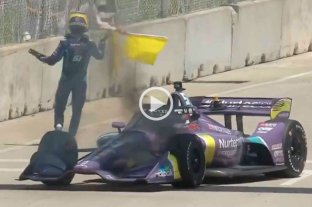 Video: Grosjean vuelve a escapar de un incendio