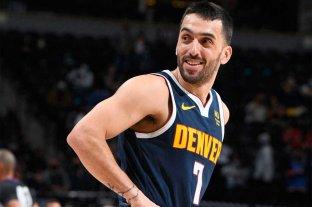 La primera temporada de Campazzo en la NBA en números