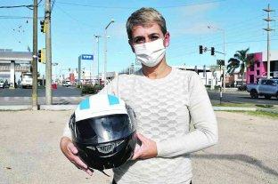 Venado pudo: más del 70 % de los accidentados en moto lleva casco