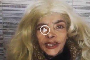 Video: irreconocible, Lía Crucet envió un mensaje a su club de fans