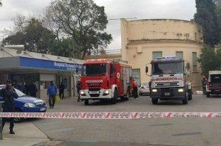 Se incendió una sala con pacientes covid en un hospital de Córdoba