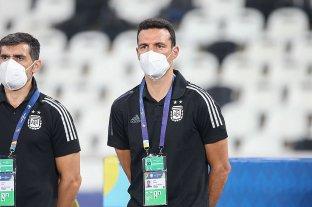 """Scaloni: """"La pelota ya va a entrar, no hay problema"""""""