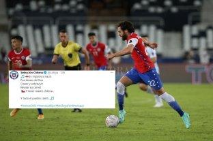 Polémico tuit de la selección de Chile por el debut ante Argentina de un jugador de origen inglés