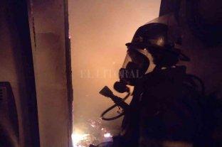 Fatal incendio en Rosario