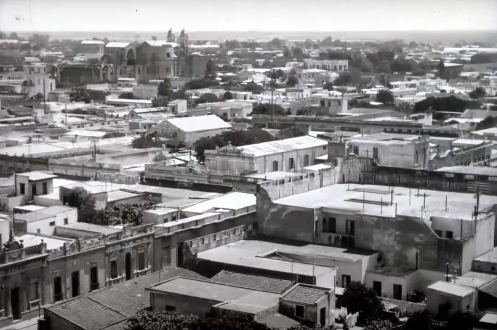 La ciudad de Santa Fe en la década de 1920 Crédito: Archivo El Litoral