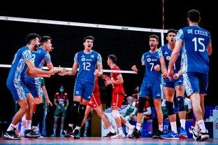 Liga de Naciones: Argentina se quedó con el triunfo ante Bulgaria