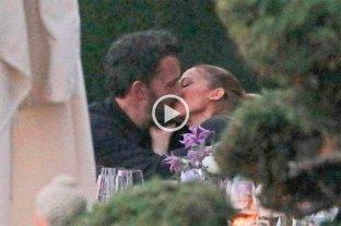 El beso entre Ben Affleck y Jennifer López que confirma la reconciliación