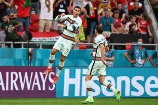 Doblete de gol y de récord para Cristiano Ronaldo en la victoria de Portugal en la Eurocopa
