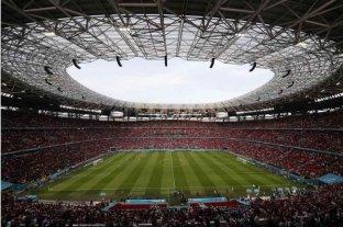 Puskás Arena, el primer estadio de fútbol que estuvo lleno de espectadores